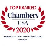 Chambers 2020 Award
